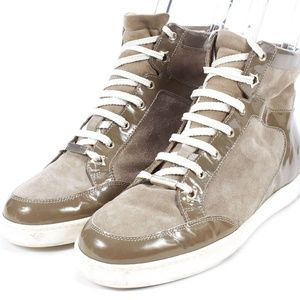 Jimmy Choo Taupe Sneakers - Size 36.5
